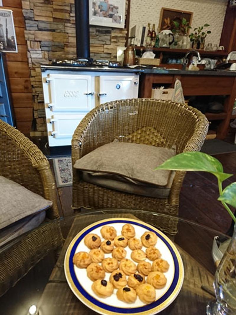 オーガニックドライフルーツがクッキーによく合いました1