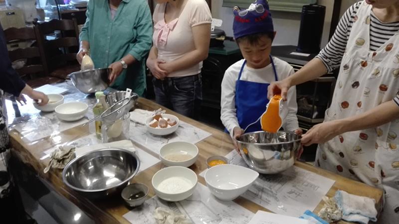 クッキングストーブでのお菓子教室201705-2