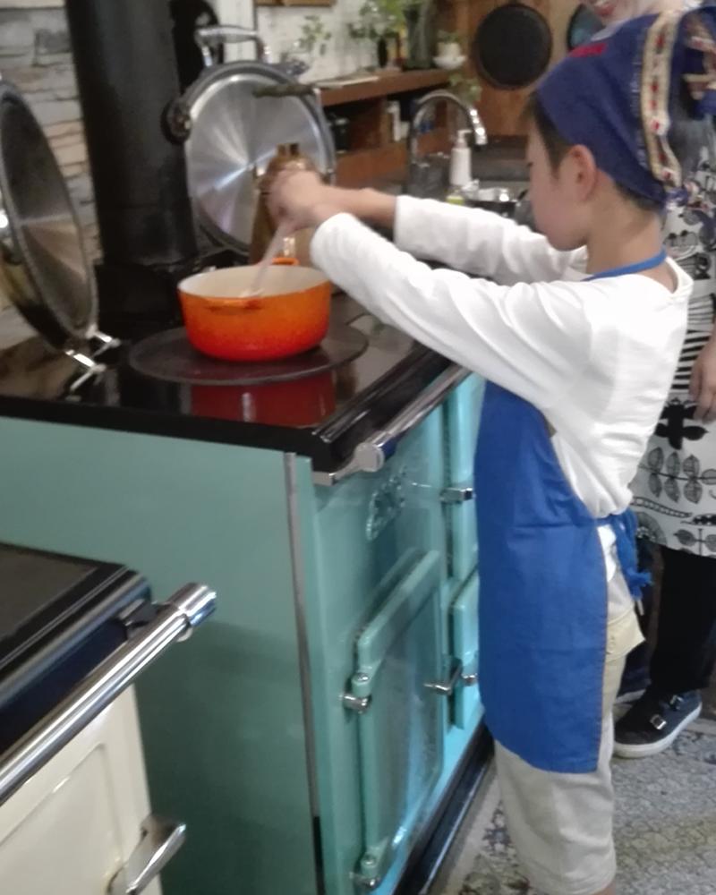 クッキングストーブでのお菓子教室201705-4