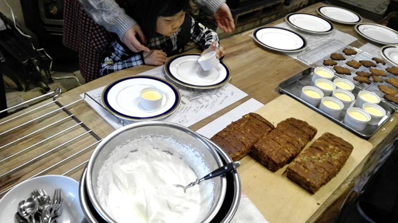 クックストーブでのお菓子教室開催10