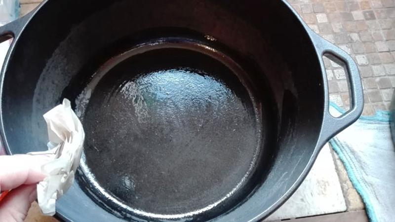 ダッチオーブンのお手入れ方法5