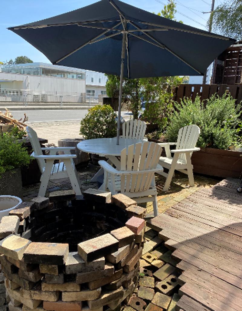 ガーデンデッキ、ガーデンテーブル2