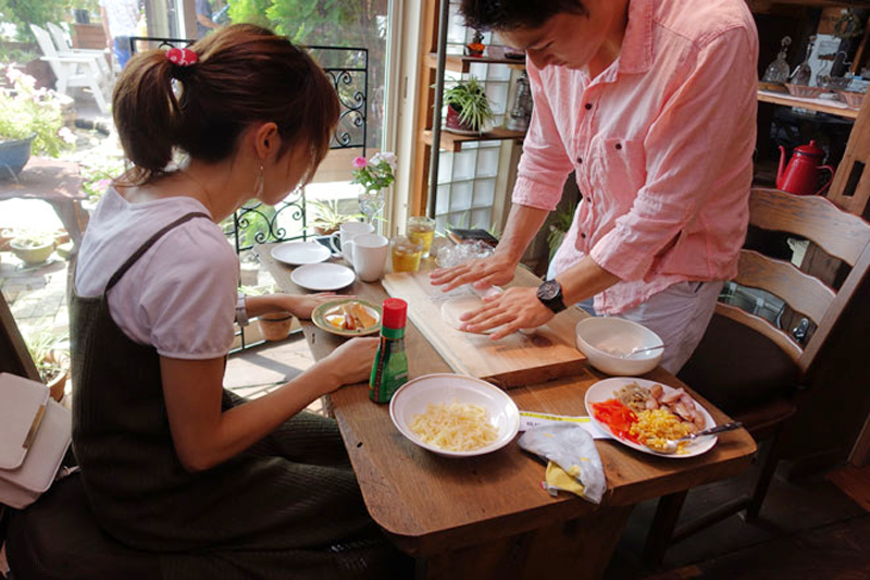 本格石窯で焼くピザ体験会1