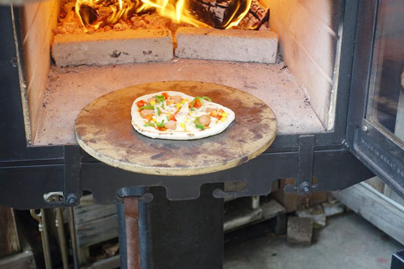 石窯ピザ焼き&薪割り体験会4