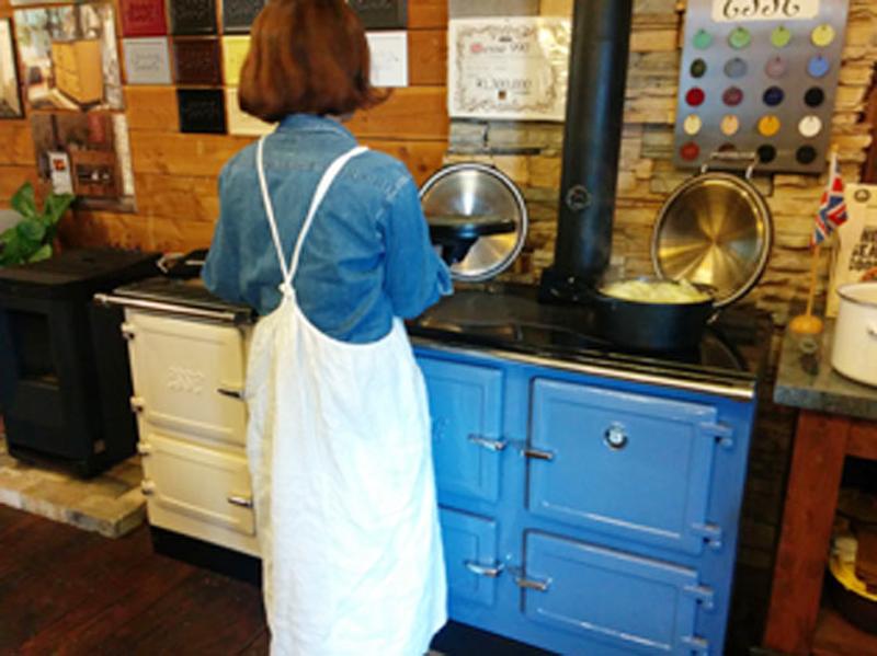 クックストーブを使ってのおもてなし料理教室4