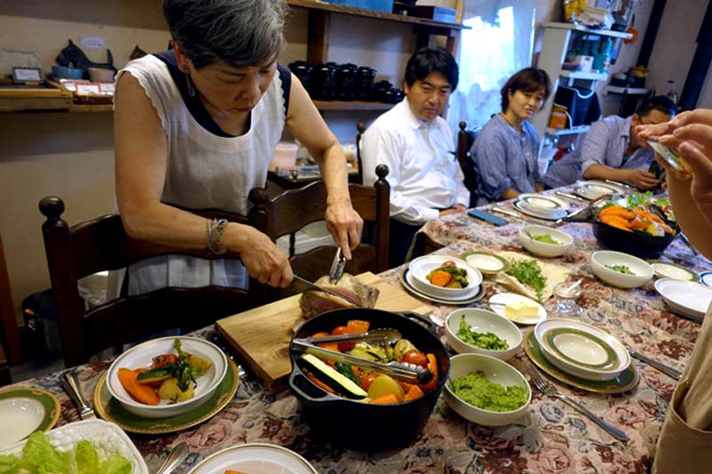 アツサニマケズ! 5月のおもてなし料理教室開催10