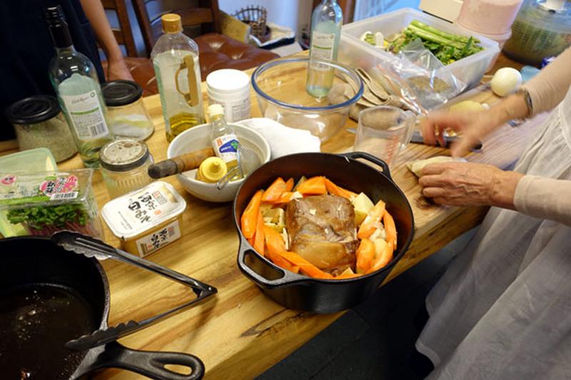 野菜たっぷり、おもてなし料理教室3