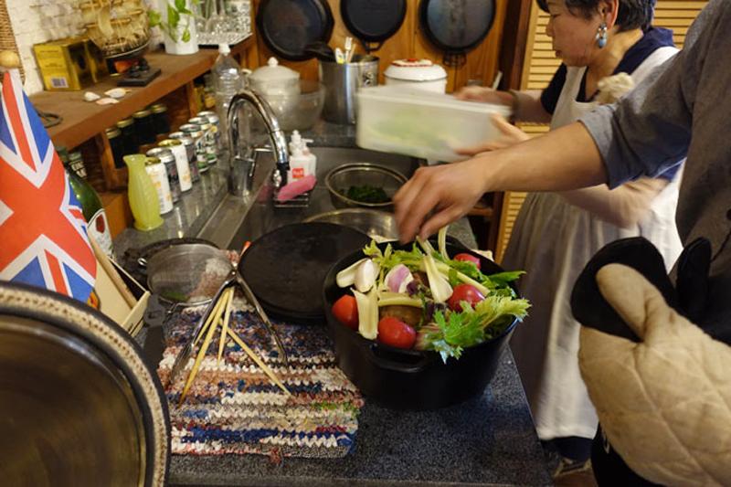 野菜たっぷり、おもてなし料理教室5