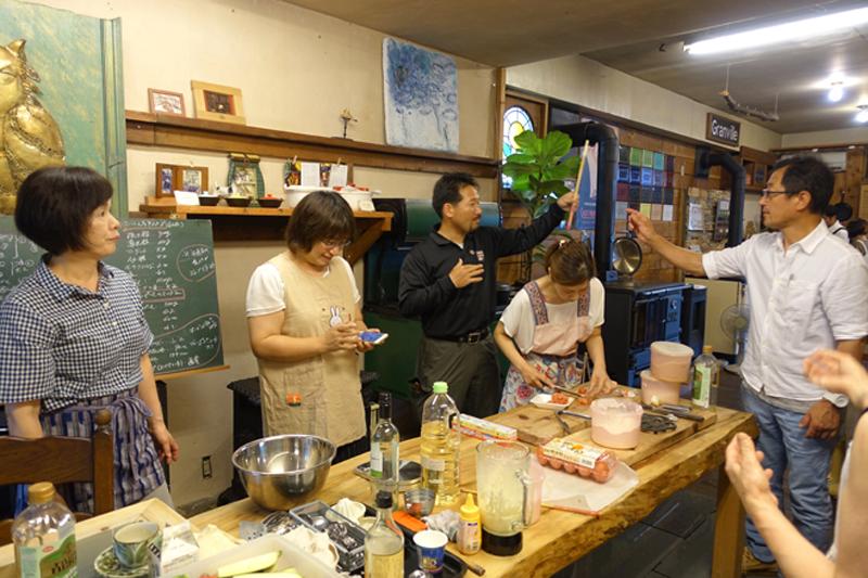 アツサニマケズ! 5月のおもてなし料理教室開催6