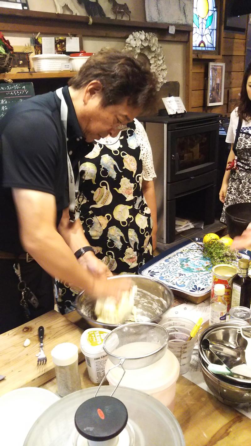 水野もと子先生の料理教室開催致しました12