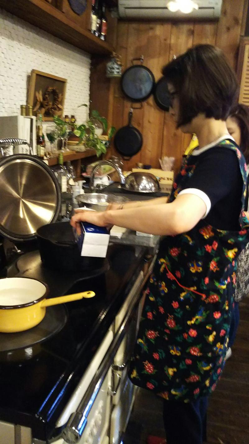 水野もと子先生の料理教室開催致しました8