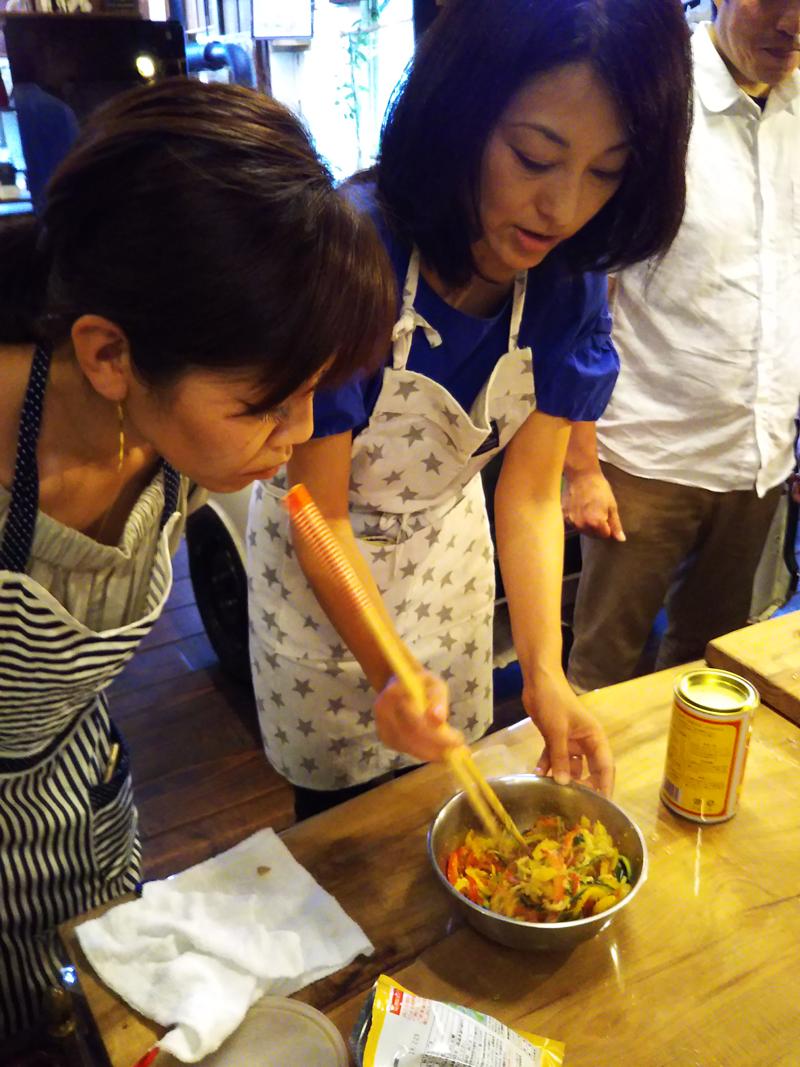 水野もと子先生 お料理教室開催いたしました12