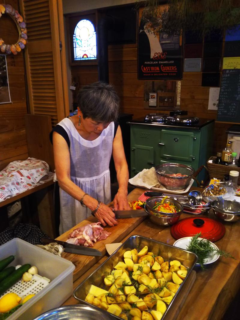 水野もと子先生 お料理教室開催いたしました2