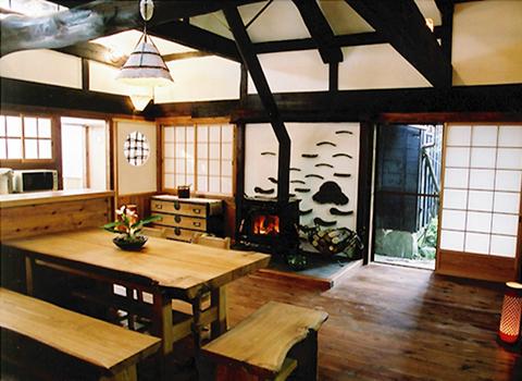 250年の歴史ある古民家を再生したお宅